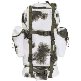 MFH BW nepromokavý batoh vzor Wintertarn  65L