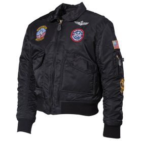 MFH CWU dětská bunda bomber, černá