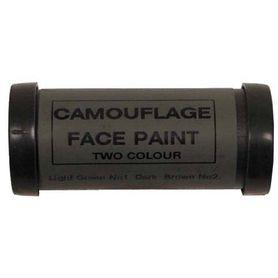 MFH Face maskovací barva na obličej, hnědo-zelená