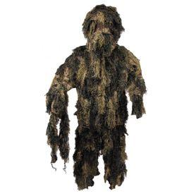 MFH Ghillie Suit maskovací komplet, woodland