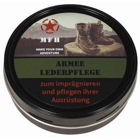 MFH Army krém na obuv černý 150 ml