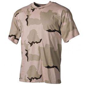 MFH maskáčové tričko vzor 3 col desert, 160g/m2