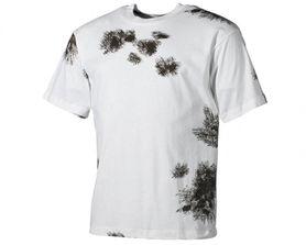 MFH maskáčové tričko vzor BW winter tarn, 160g/m2
