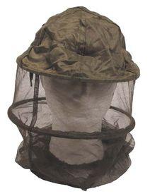 MFH moskytiéra na hlavu s obručí, olivová
