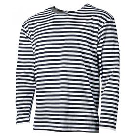 MFH námořnické tričko s dlouhým rukávem černé