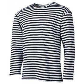 MFH námořnické tričko s dlouhým rukávem černé zimní