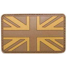 MFH nášivka 3D Velká Británie 8x5cm desert