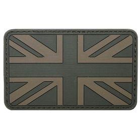 MFH nášivka 3D Velká Británie 8x5cm olivová