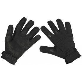MFH Neoprénové rukavice Combat černé