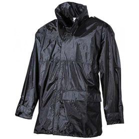 MFH Nepromokavá bunda do deště PVC černá