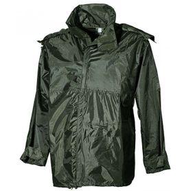 MFH Nepromokavá bunda do deště PVC olivová