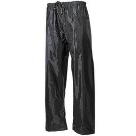MFH nepromokavé kalhoty polyester s PVC olivové