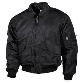 MFH CWU bomber pilot bunda, černá
