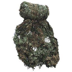 MFH použitá maskovací síť olivově-hnědá 7,5 x 7,5m