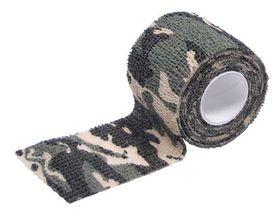 MFH Samosťahovacia maskovací páska, woodland