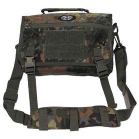 MFH Side taška přes rameno, flecktarn