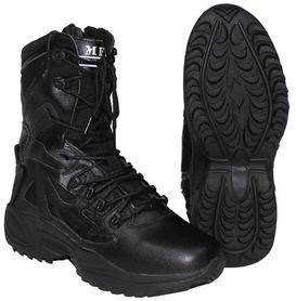 MFH Taktická kombinovaná obuv, černá