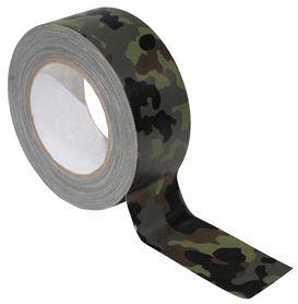 MFH Textilní páska, flecktarn, 25m