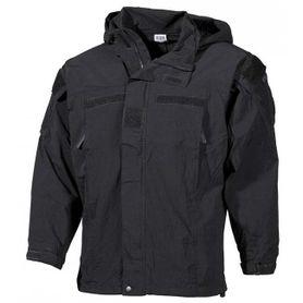 MFH US bunda soft shell černá - level5