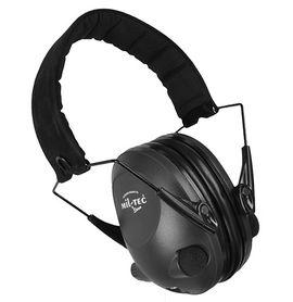 Mil-tec Activ elektronické sluchátka proti hluku, černá