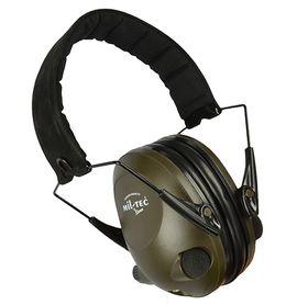 Mil-tec Activ elektronické sluchátka proti hluku, olivové