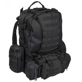 Mil-Tec Defence batoh černý, 36l