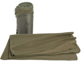 Mil-Tec deka Poly-Fleece, 200x150 cm, olivová