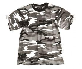Mil-Tec dětské tričko vzor urban