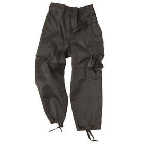 Mil-Tec Hose dětské kalhoty, černé