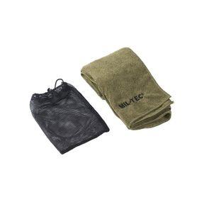 Mil-tec microfibre ručník 100x50cm, olivový