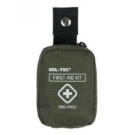 Mil-Tec mini lékárnička první pomoci, olivová