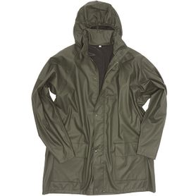 Mil-tec nepromokavá bunda do deště, olivová