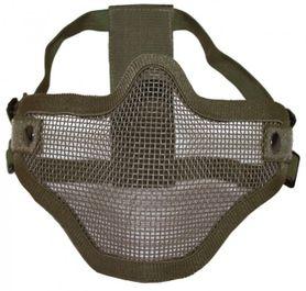 Mil-Tec OD Airsoft maska na obličej, olivová