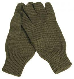 Mil-Tec pletené rukavice, olivové