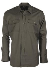 Mil-tec Ripstop košile s dlouhým rukávem, olivová