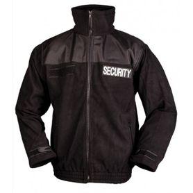 Mil-Tec Security flisová mikina, černá