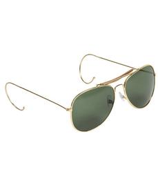 Mil-tec slunečné okuliare Air Force s púzdrom, tmavě zelené