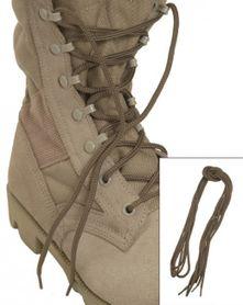 Mil-Tec Co tkaničky do bot, coyote 80cm