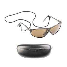 Mil-tec Suvasol sluneční brýle Švýcarské s plastovým pouzdrem, černé