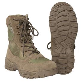 Mil-Tec taktická obuv na zip, A-Tacs FG