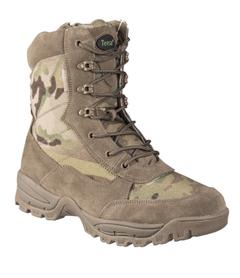 Mil-Tec taktická obuv na zip, Multicam