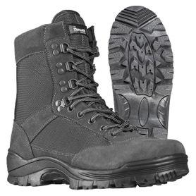 Mil-Tec taktická obuv na zip, šedé