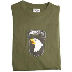 Mil-Tec tričko airborne olivové, 145g/m2