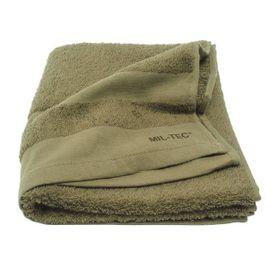 Mil-tec ručník, olivový  110x50cm