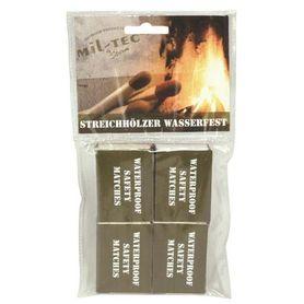 Mil-Tec voděodolné zápalky 4 krabičky