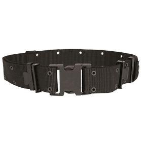 Mil-Tec rigid US LC2 Pásek  hrubý černý, 5.5cm