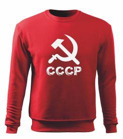 O&T pánská mikina cccp, červená 300g / m2