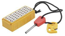 Pack Pal Tinder Maker, kapesní struhadlo s třecím zapalovačem