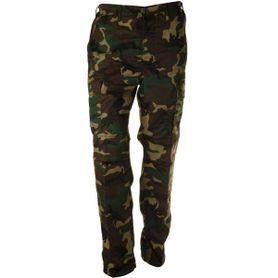 Pánské kalhoty BDU, vzor woodland