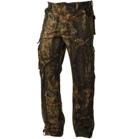 Loshan DarkForrest pánské kalhoty vzor Real tree tmavé